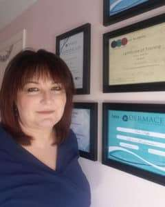 Photo of Kim Duffy owner of Permanent Makeup & Aesthetics by Kim Duffy