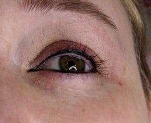 Permanent Black eyeliner